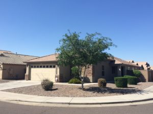 Corner lot for sale in Rogers Ranch Laveen Az
